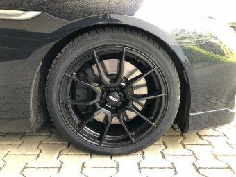 ATS Racelight Felge in 8.5x19 ET 34 mit Hankook Sommer Reifen in 245/40/19 montiert vorn Hier auf einem 6er BMW F13 650i (Coupe) Details zum Fahrzeug / Besitzer