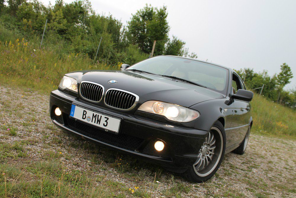 325ci facelift 3er bmw e46 coupe tuning fotos. Black Bedroom Furniture Sets. Home Design Ideas