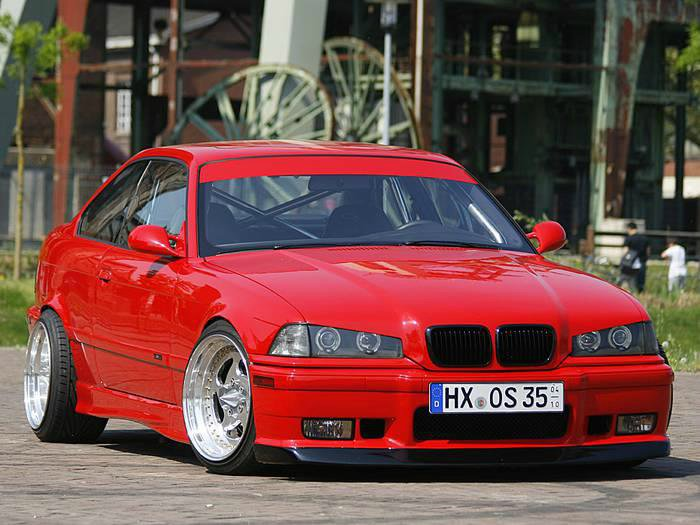 The red Devil - 3er BMW - E36