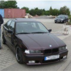 mein opi der 325i - 3er BMW - E36 -
