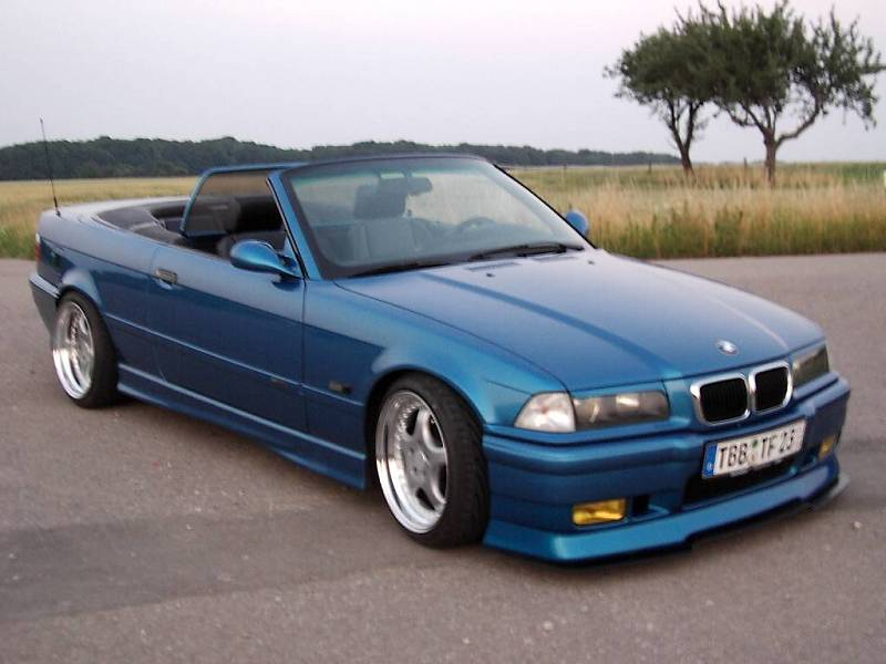 325 cabrio blau und dezent 3er bmw e36 cabrio. Black Bedroom Furniture Sets. Home Design Ideas