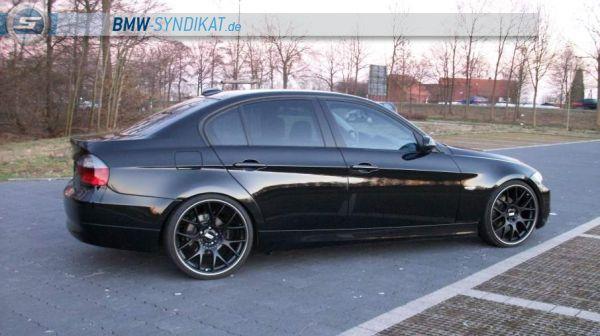 """E90 325i 20"""" Blackline - 3er BMW - E90 / E91 / E92 / E93 - f.jpg"""