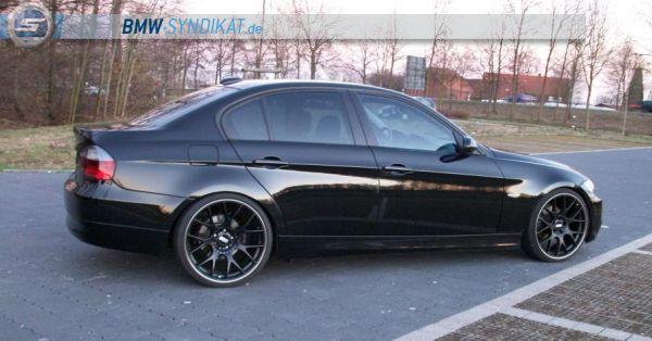 """E90 325i 20"""" Blackline - 3er BMW - E90 / E91 / E92 / E93"""