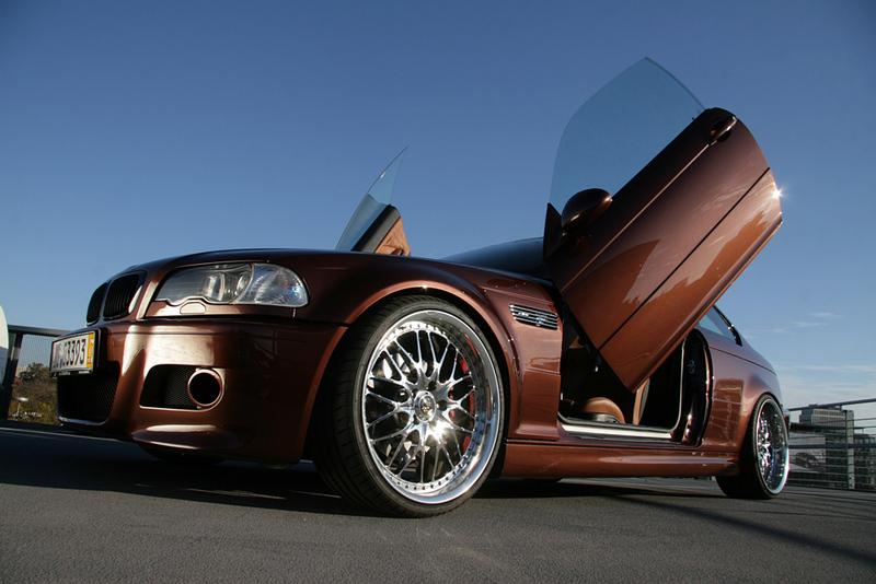 """Ex Fahrzeug """"Diablo Pearl"""" by TC-Concepts - 3er BMW - E46"""