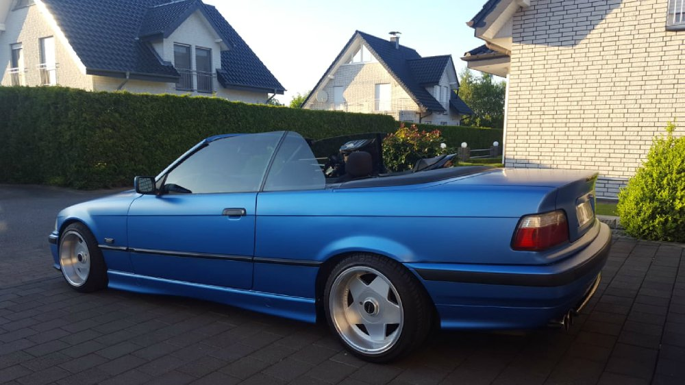 Back to 90s :) E36 Cabrio - 3er BMW - E36