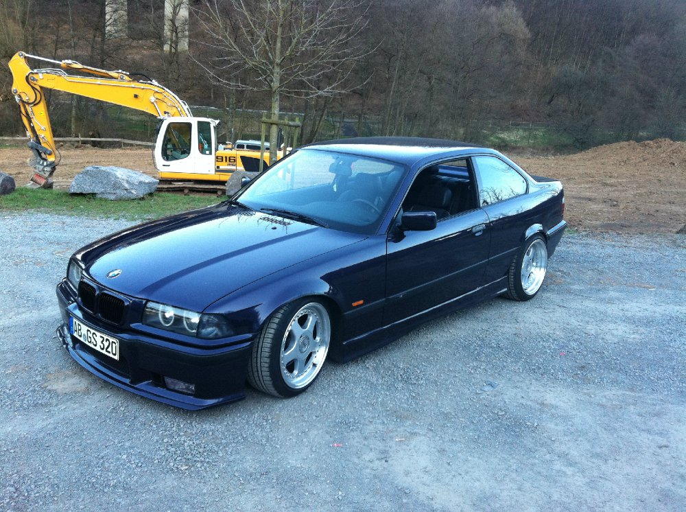 bmw 320i e36 m packet 3er bmw e36 coupe tuning fotos bilder stories. Black Bedroom Furniture Sets. Home Design Ideas