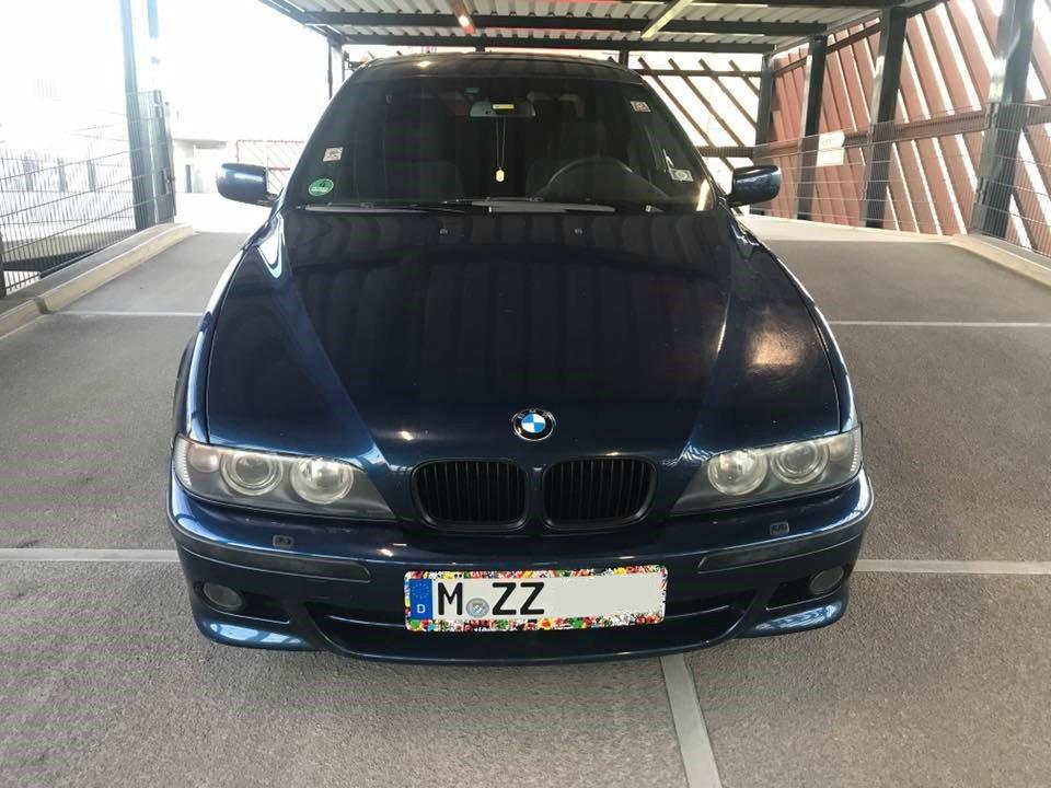 E39 523i BIARRITZBLAU - 5er BMW - E39