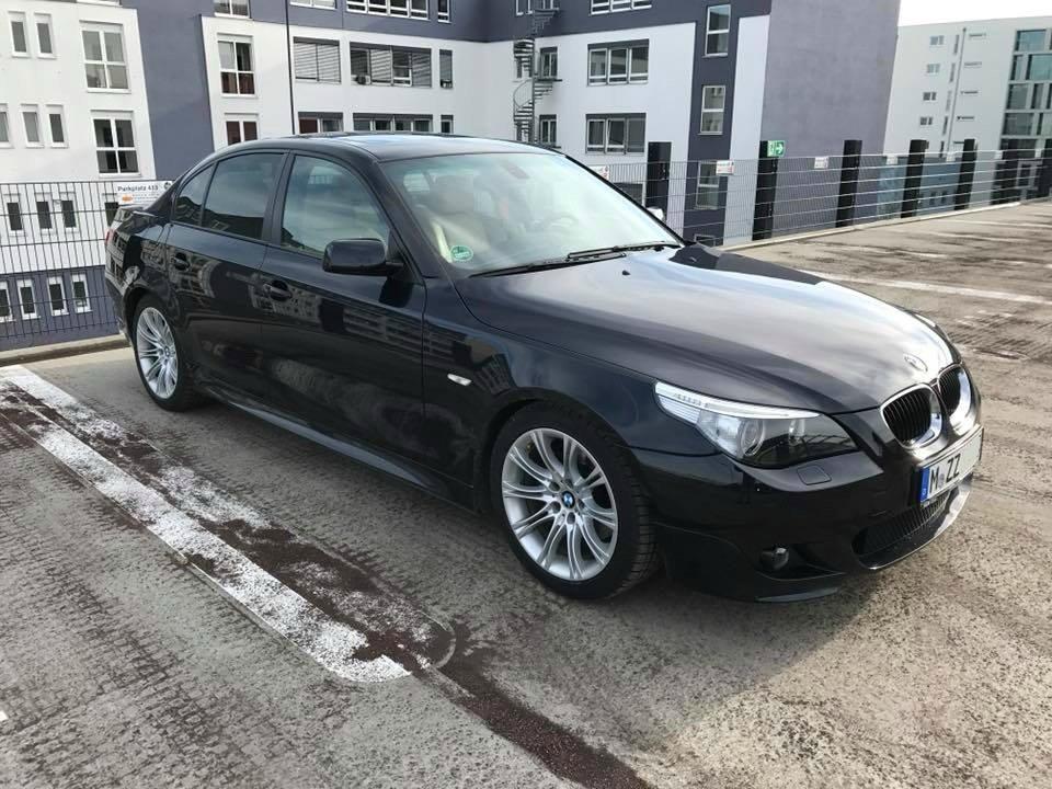 BMW E60 530i Carbonschwarz - 5er BMW - E60 / E61