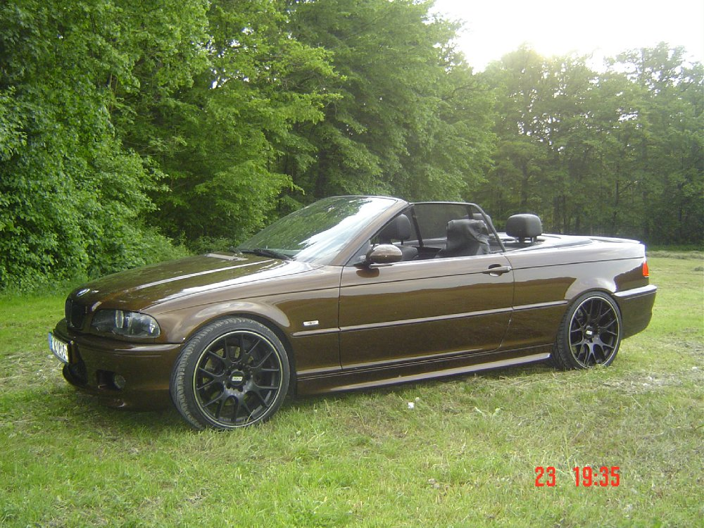 e 46 cabrio 3er bmw e46 cabrio tuning fotos bilder stories. Black Bedroom Furniture Sets. Home Design Ideas