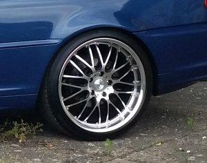 Dotz Mugello Felge in 8.5x19 ET 35 mit Continental Contact 5P Reifen in 235/35/19 montiert hinten Hier auf einem 3er BMW E46 328i (Coupe) Details zum Fahrzeug / Besitzer