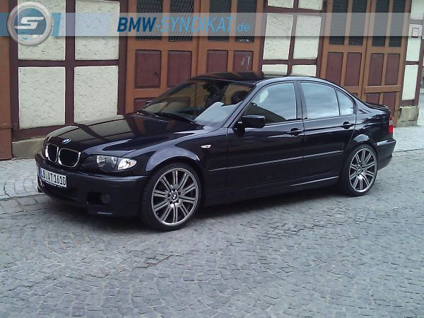 e46 316i mit 19 zoll 3er bmw e46 limousine tuning fotos bilder stories. Black Bedroom Furniture Sets. Home Design Ideas