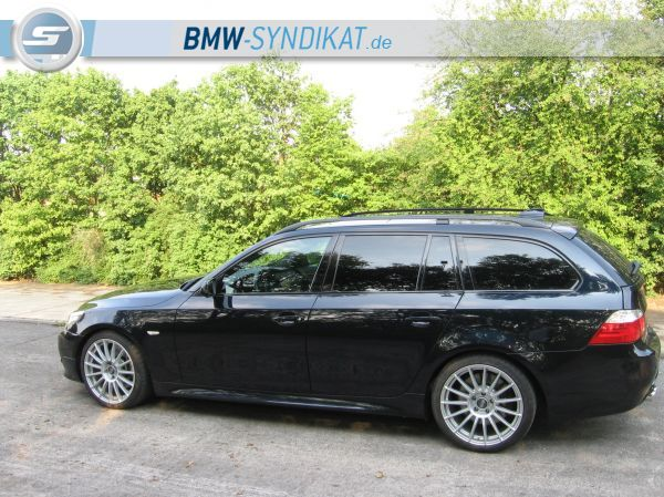 "BMW E61 535D Touring M-Sportpacket & OZ 19"" . - 5er BMW - E60 / E61"