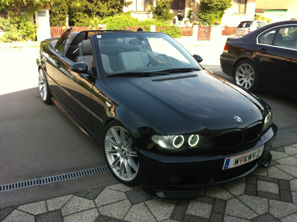 330ci cabrio m paket 3er bmw e46 cabrio tuning fotos bilder stories. Black Bedroom Furniture Sets. Home Design Ideas