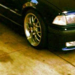 Rial  Felge in 8x17 ET  mit Falken  Reifen in 215/40/17 montiert vorn mit 10 mm Spurplatten und mit folgenden Nacharbeiten am Radlauf: geb�rdelt und gezogen Hier auf einem 3er BMW E36 M3 (Coupe) Details zum Fahrzeug / Besitzer