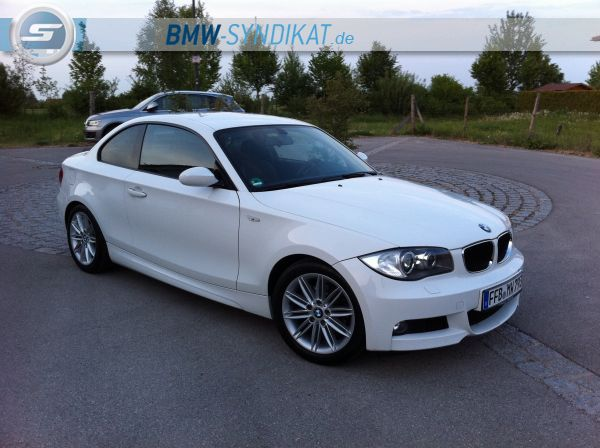mein bmw 120d coup 1er bmw e81 e82 e87 e88 coupe tuning fotos bilder. Black Bedroom Furniture Sets. Home Design Ideas