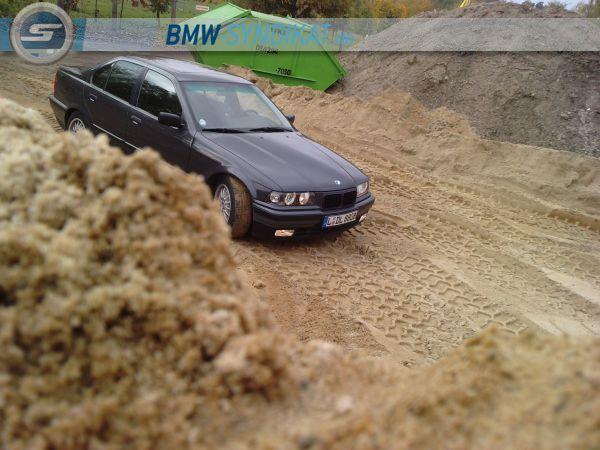 Der vulkangraue Ex-Hobel - 3er BMW - E36