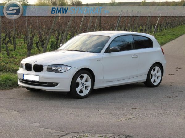 bmw 120d 1er bmw e81 e82 e87 e88 3 t rer tuning fotos bilder stories. Black Bedroom Furniture Sets. Home Design Ideas