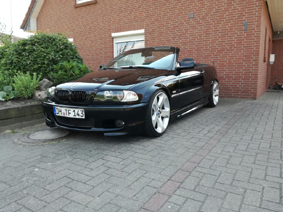 330ci cabrio 3er bmw e46 cabrio tuning fotos. Black Bedroom Furniture Sets. Home Design Ideas