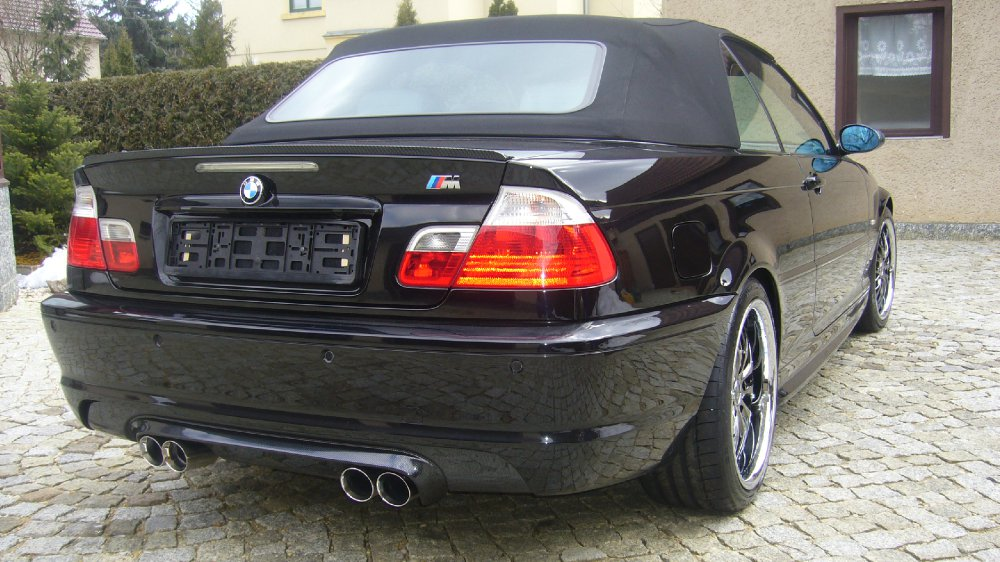 330CIA Cabrio black Toy - 3er BMW - E46