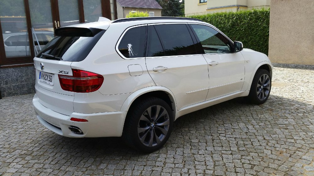 X5 E70 V8 weiß - BMW X1, X3, X5, X6