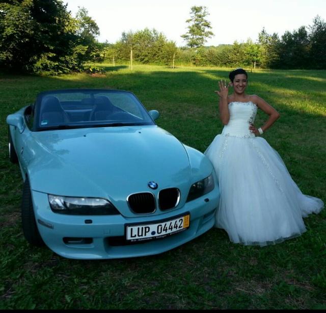 """Bmw Z4 Hardtop: BMW Z3 2,8 Hochzeitsgeschenk [ BMW Z1, Z3, Z4, Z8 ] """"Z3"""