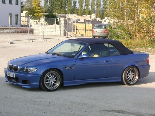 BMW E36 M3 Cabrio (E46 Front-Facelift) - 3er BMW - E36