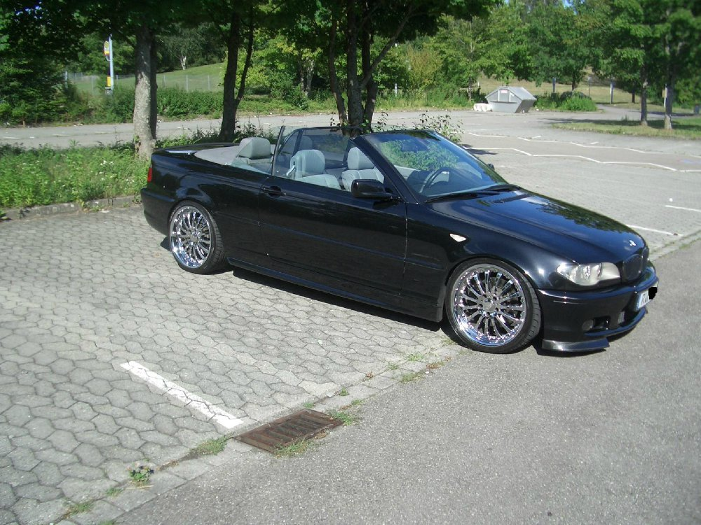 bmw e46 330ci cabrio 3er bmw e46 cabrio tuning fotos bilder stories. Black Bedroom Furniture Sets. Home Design Ideas