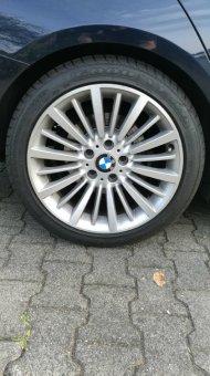 BMW BMW Alufelge Vielspeiche 416 Felge in 8x18 ET 34 mit Goodyear  Reifen in 225/45/18 montiert hinten Hier auf einem 3er BMW F30 328i (Limousine) Details zum Fahrzeug / Besitzer