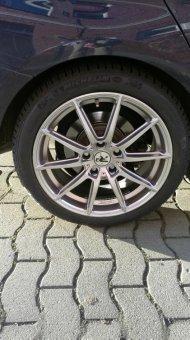 - NoName/Ebay - R3 Wheels R3H3 hyper-silver Felge in 8x18 ET 35 mit Michelin Pilot Alpin PA4 Reifen in 225/45/18 montiert hinten Hier auf einem 3er BMW F30 328i (Limousine) Details zum Fahrzeug / Besitzer