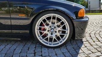 BBS Styling 163 CSL Felge in 8x19 ET 47 mit Continental SportMaxx Reifen in 225/35/19 montiert vorn mit 20 mm Spurplatten Hier auf einem 3er BMW E46 330i (Cabrio) Details zum Fahrzeug / Besitzer
