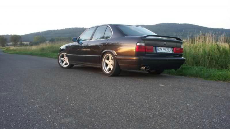 E34, 535i - Relative Breite! - 5er BMW - E34