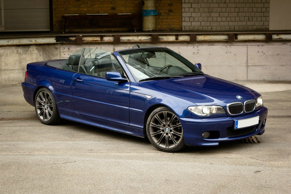 le mans blaues 325i cabrio 3er bmw e46 cabrio tuning fotos bilder stories. Black Bedroom Furniture Sets. Home Design Ideas