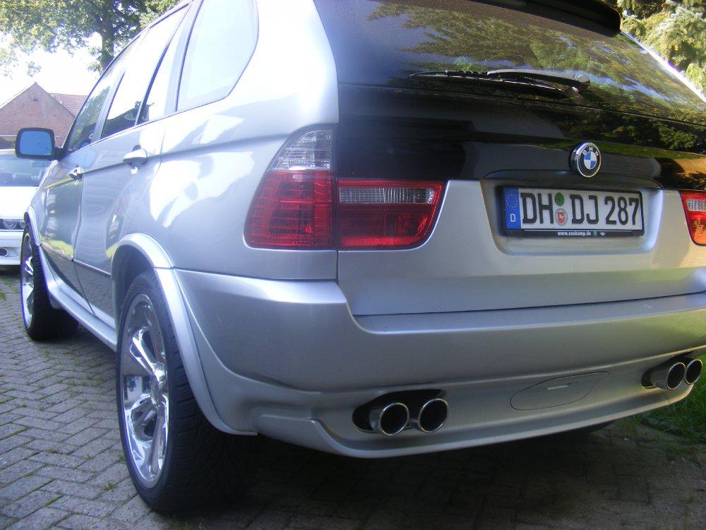 X5 E53 22 Zoll-Chrom US-Modell Umbauphase - BMW X1, X2, X3, X4, X5, X6, X7