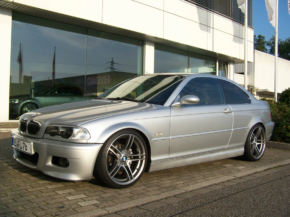 bmw e46 320 ci coupe 3er bmw e46 coupe tuning fotos bilder stories. Black Bedroom Furniture Sets. Home Design Ideas