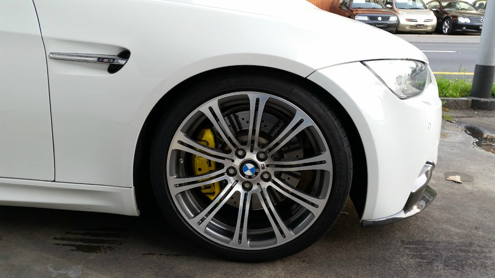 M3 E92 Coupe alpinweiss - 2008, DKG - 3er BMW - E90 / E91 / E92 / E93
