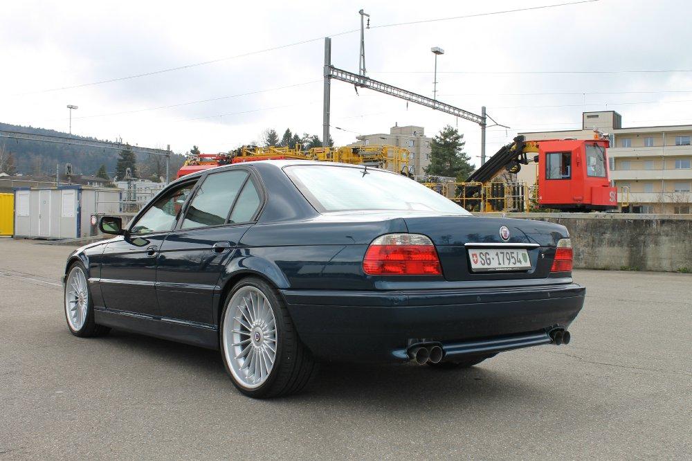BMW 750i Individual, Aegaeischblau, Alpina - Fotostories weiterer BMW Modelle