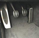 BMW Pedale / Fußstützen Edelstahlpedalerie