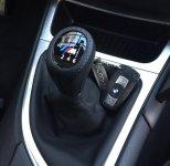 BMW Schalthebel M Schaltknauf