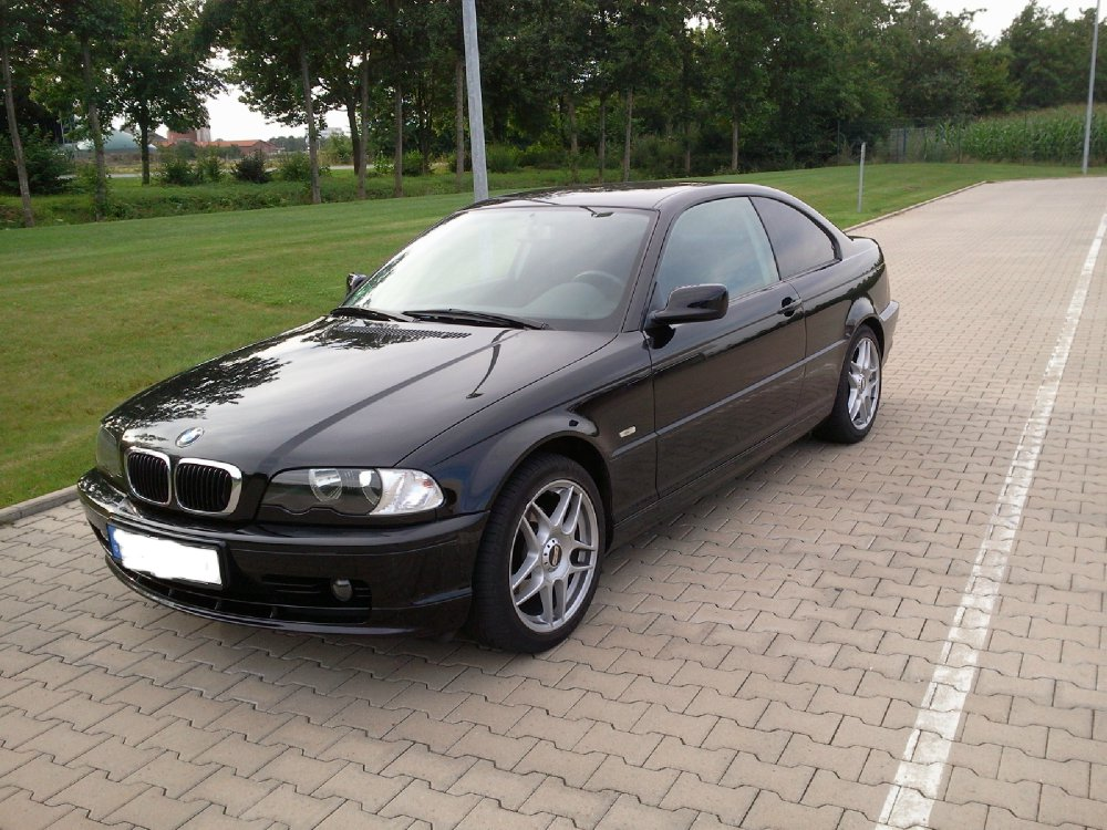 bmw e46 318ci cosmosschwarz 3er bmw e46 coupe tuning fotos bilder stories. Black Bedroom Furniture Sets. Home Design Ideas