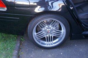 Alpina ALPINA DYNAMIC Felge in 9x20 ET  mit Continental Sport Contact 5 Reifen in 245/40/20 montiert vorn mit 15 mm Spurplatten Hier auf einem 7er BMW E66 750i (Limousine) Details zum Fahrzeug / Besitzer
