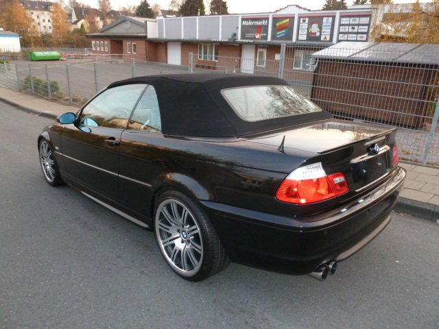 bmw 330ci cabrio 3er bmw e46 cabrio tuning. Black Bedroom Furniture Sets. Home Design Ideas