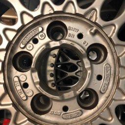 BBS Bbs rc 035 Felge in 8x17 ET  mit Pirelli  Reifen in 205/40/17 montiert vorn Hier auf einem 3er BMW E36 328i (Cabrio) Details zum Fahrzeug / Besitzer