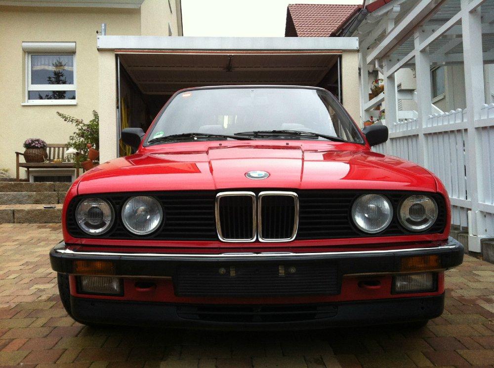 E30 Cabrio brillantrot - 3er BMW - E30
