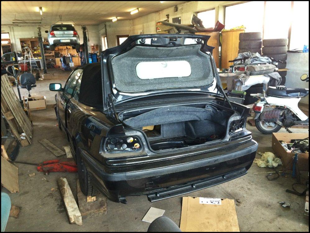 """328i Cabrio wieder aufgebaut """"Der Traum lebt"""" - 3er BMW - E36"""
