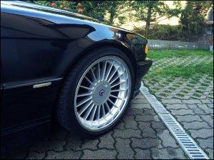Alpina Classic Felge in 9x20 ET 20 mit Bridgestone Potenza Reifen in 245/35/20 montiert vorn Hier auf einem 7er BMW E38 740i (Limousine) Details zum Fahrzeug / Besitzer