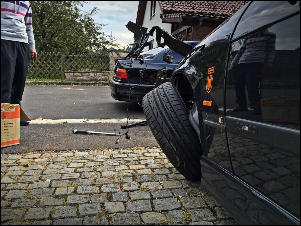 "E36 ""Die Limo"" Update Totalschaden :( Styling 21 - 3er BMW - E36"
