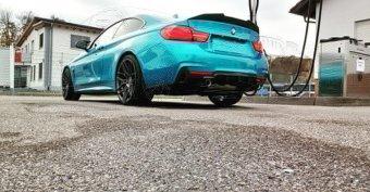 - Eigenbau - Wheelforce CF2 FlowForged Felge in 10x20 ET 42 mit Michelin PS4S Reifen in 265/30/20 montiert hinten Hier auf einem 4er BMW F32 440i (Coupe) Details zum Fahrzeug / Besitzer
