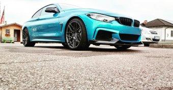 - Eigenbau - Wheelforce CF2 FlowForged Felge in 9x20 ET 35 mit Michelin PS4S Reifen in 245/35/20 montiert vorn Hier auf einem 4er BMW F32 440i (Coupe) Details zum Fahrzeug / Besitzer