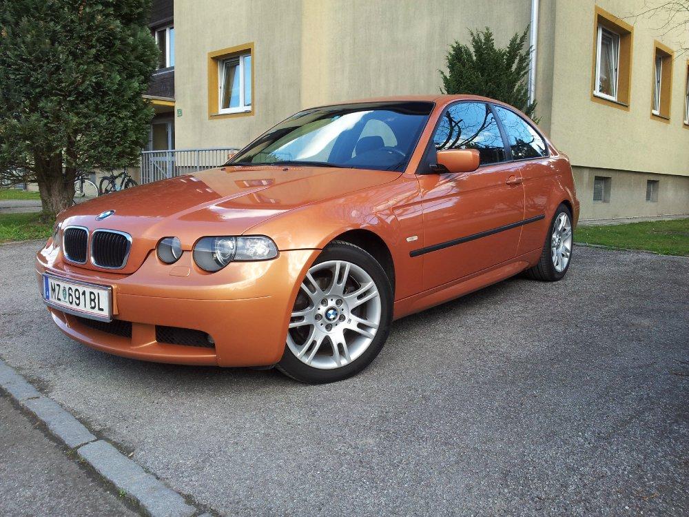 320td orange 3er bmw e46 compact tuning fotos. Black Bedroom Furniture Sets. Home Design Ideas