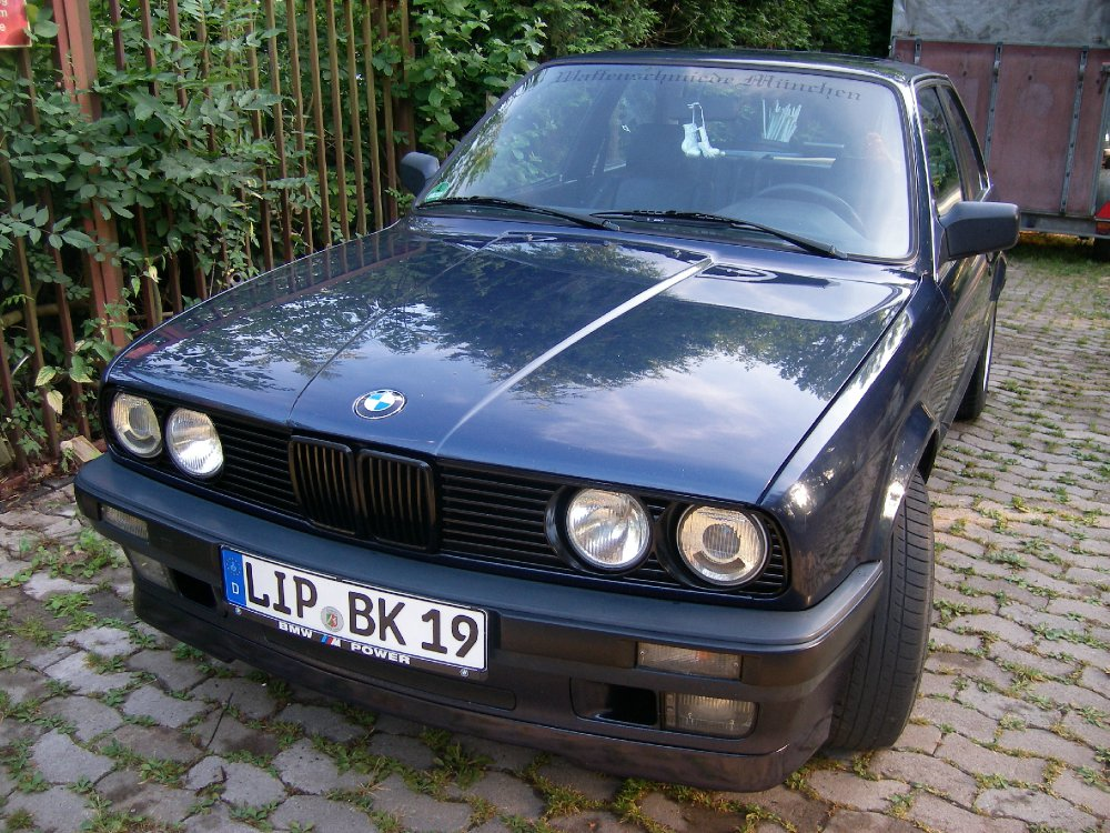 Herr Blau - 3er BMW - E30